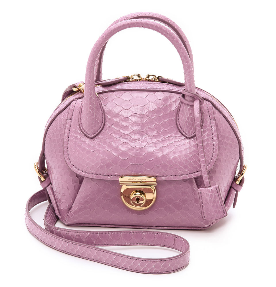 Salvatore-Ferragamo-Python-Mini-Fiamma-Bag