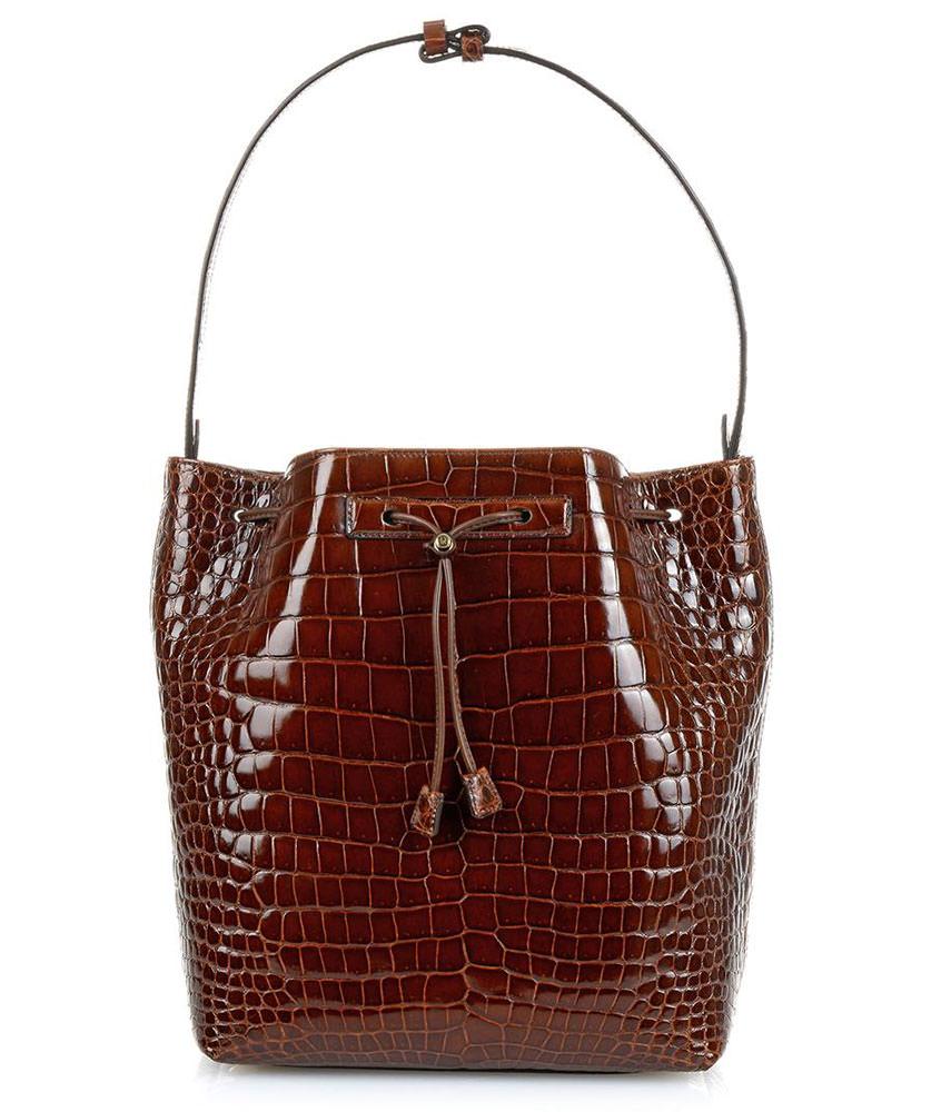 The-Row-Crocodile-Bucket-Bag