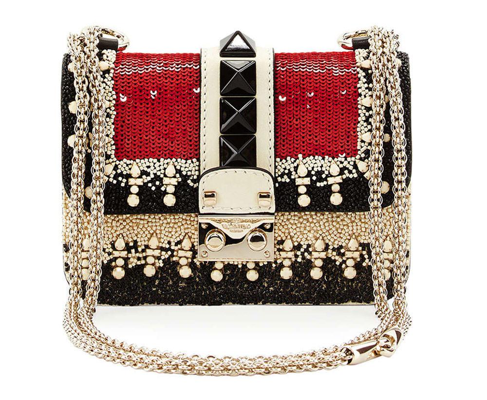 Valentino-Lock-Embellished-Bag