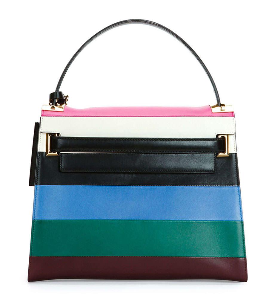 Valentino-My-Rockstud-Striped-Frame-Bag