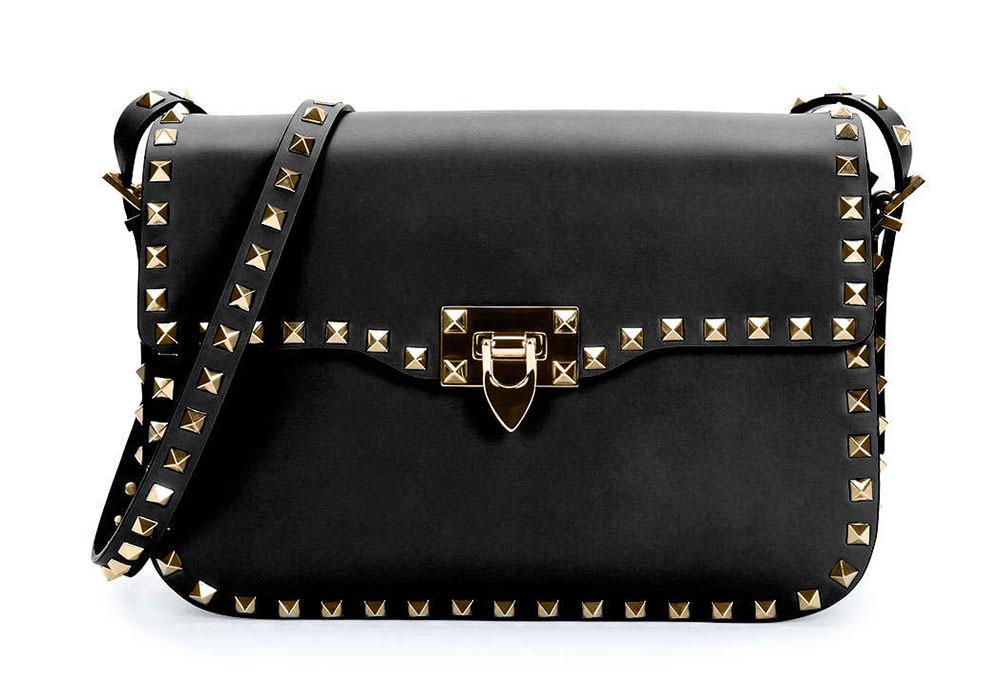 Valentino-Rockstud-Flap-Shoulder-Bag