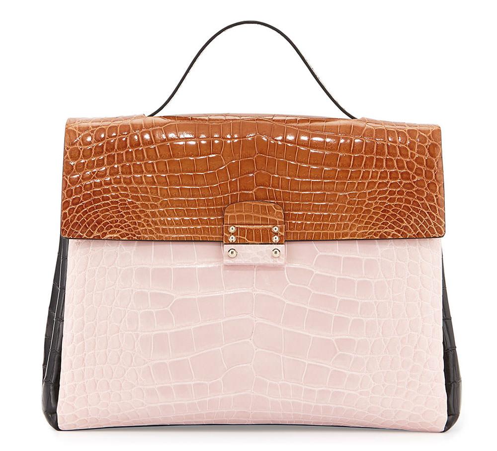 Valentino-Tricolor-Crocodile-Bag