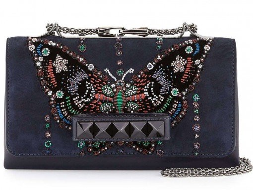 Valentino-VaVaVoom-Butterfly-Beaded-Bag