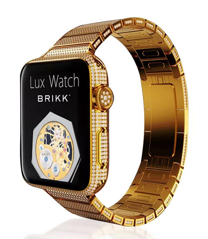Brikk-Lux-Apple-Watch-24k-Gold-Diamond-Encrusted-42mm