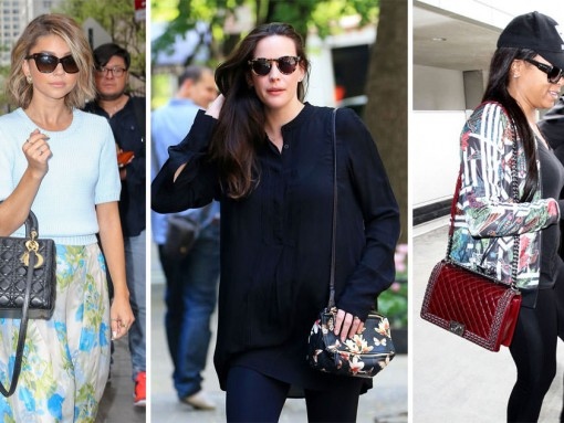 This Week, Celebs Enjoy Gorgeous Weather with Gorgeous Bags