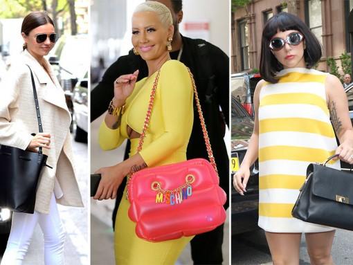 Viva Variety! Celeb Handbag Picks Are All Over the Place This Week