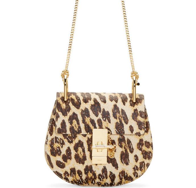 Chloe-Drew-Leopard-Bag
