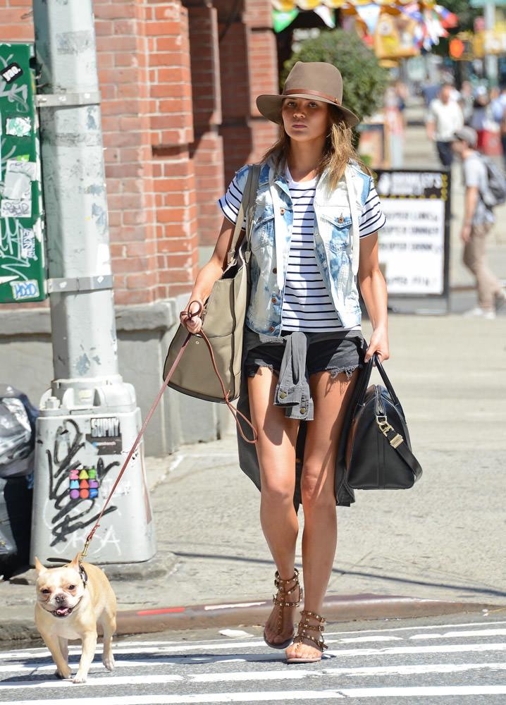 Chrissy Teigen Givenchy Antigona Bag-1
