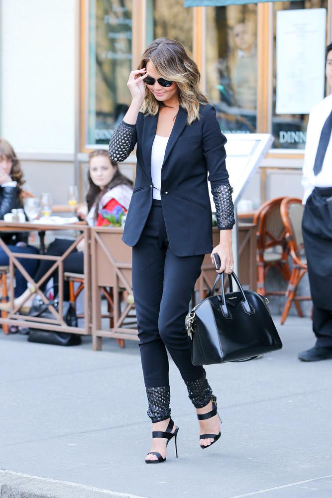 Chrissy Teigen Givenchy Antigona Bag-3