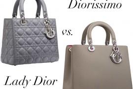 Bag Battles: Christian Dior Lady Dior Bag vs. Christian Dior Diorissimo Bag
