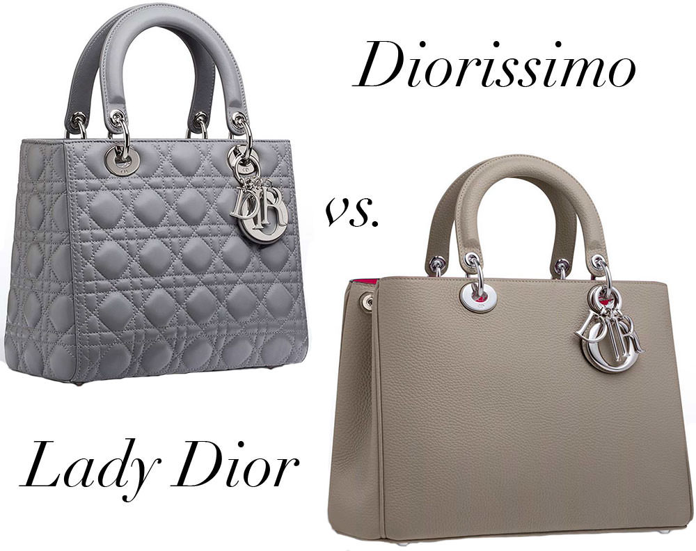 Bag Battles: Christian Dior Lady Dior Bag vs. Christian ...