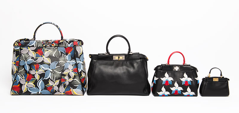 Fendi Peekaboo Size Comparison. Fendi Peekaboo Size Comparison. Left To  Right  Large ... af45765e4f