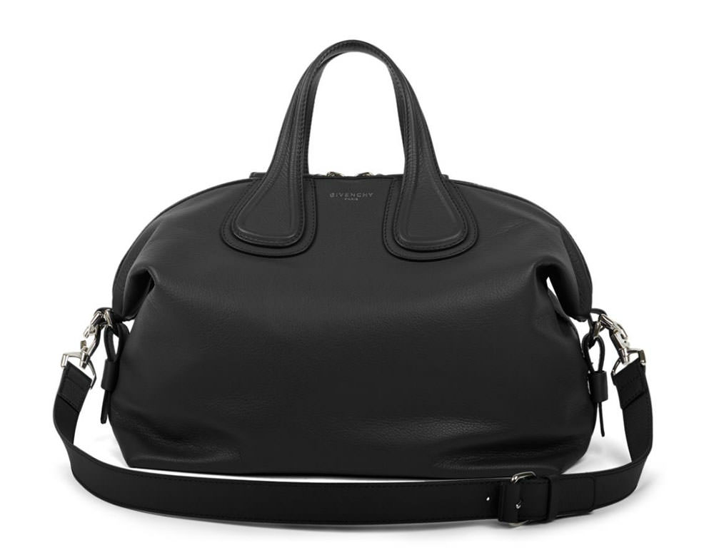 Givenchy-Nightingale-Medium-Satchel-Black