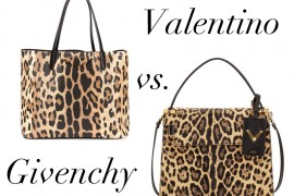 Bag Battles: Givenchy Leopard vs. Valentino Leopard