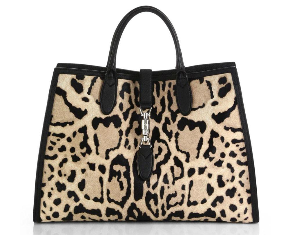 Gucci-Jackie-Soft-Leopard-Calf-Hair-Tote