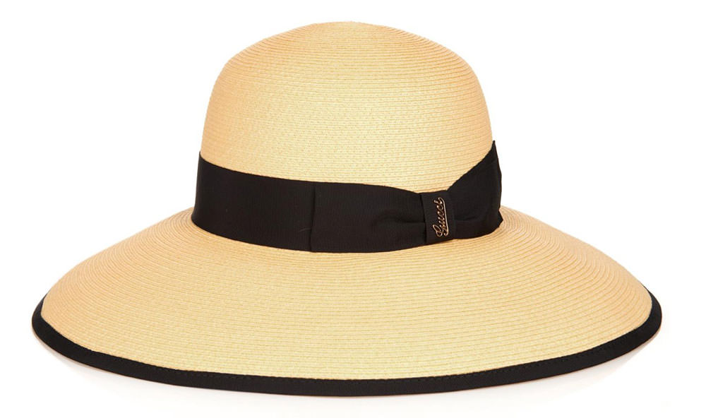 Gucci-Wide-Brimmed-Straw-Hat