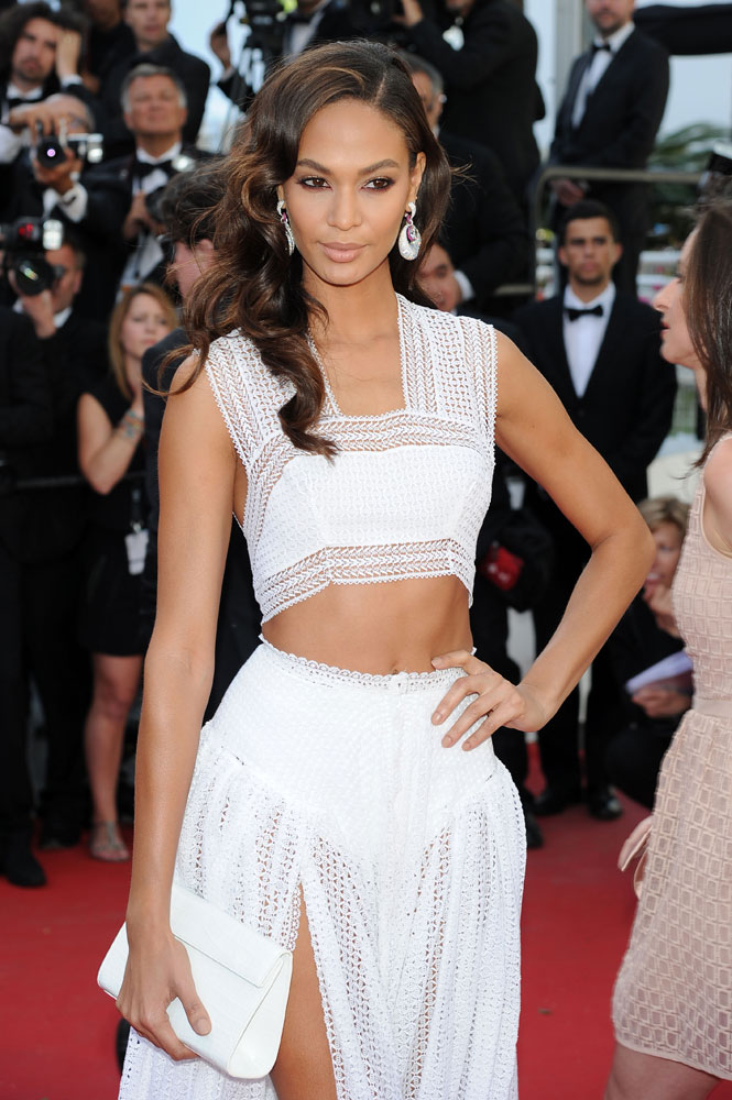 Joan-Smalls-Nancy-Gonzalez-Crocodile-Flap-Clutch