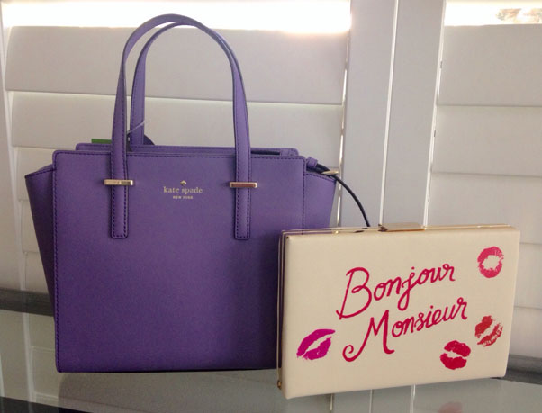 Kate-Spade-Tote-and-Clutch