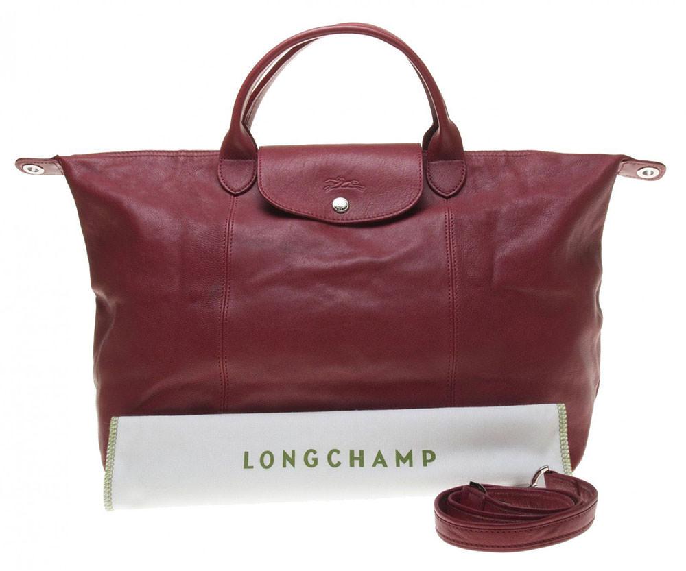 Longchamp-Le-Pliage-Cuir-Tote