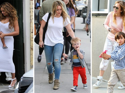 The Many Shoes of Famous Moms
