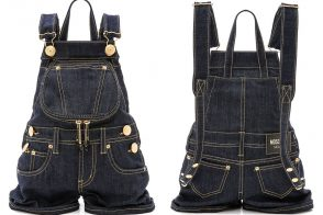 Love It or Leave It: The Moschino Denim Overall Backpack