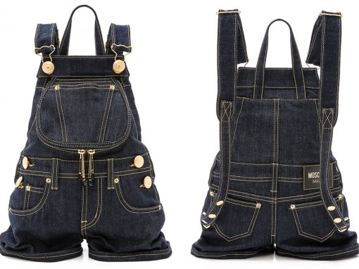 Moschino-Denim-Overall-Backpack