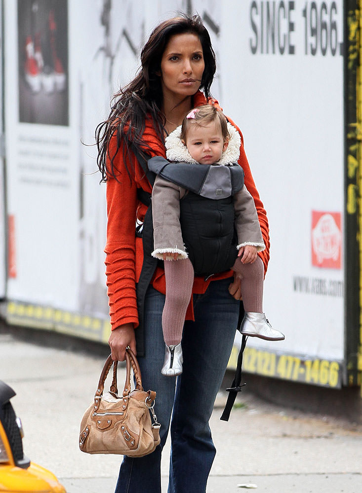 Padma Lakshmi Balenciaga First Bag