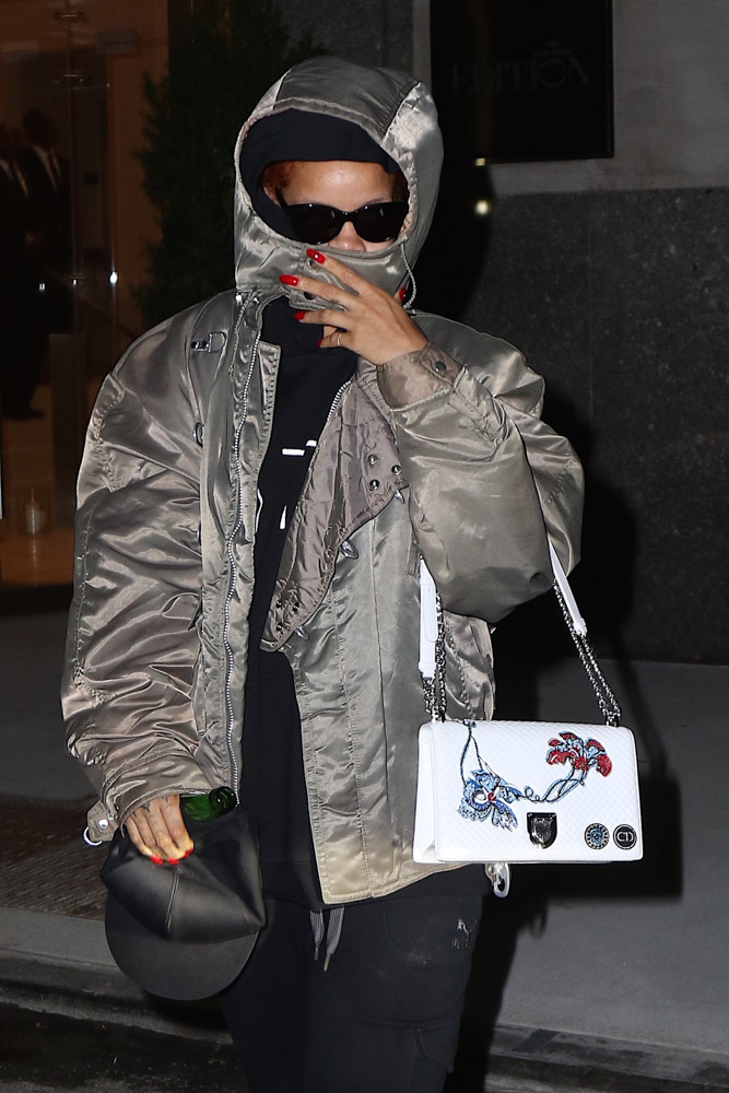Rihanna Christian Dior Diorama Bag-3