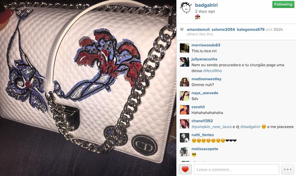 Rihanna-Christian-Dior-Diorama-Bag-5