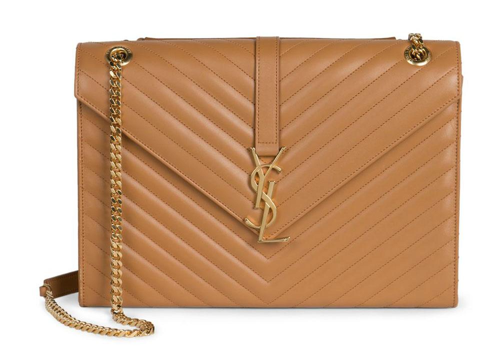 Saint-Laurent-Monogramme-Shoulder-Bag