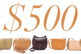5 Under $500: Saddle Bags