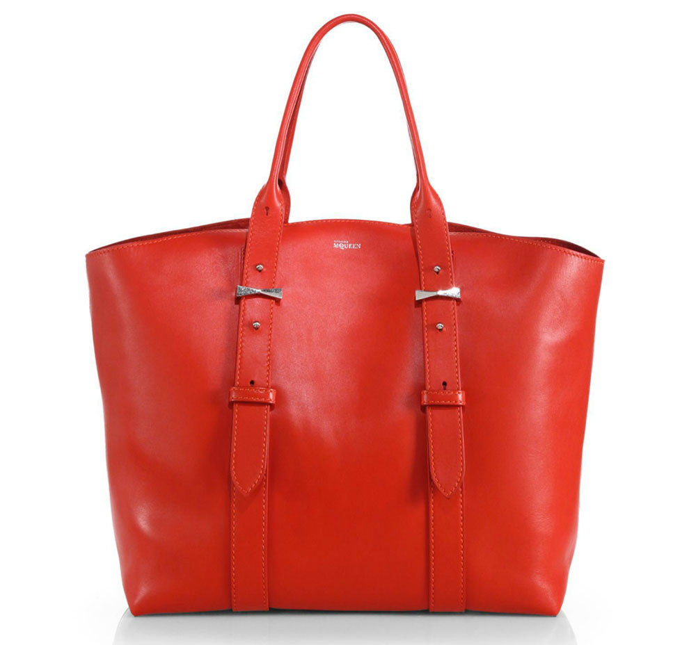 Alexander-McQueen-Legend-Shopper-Tote-Red