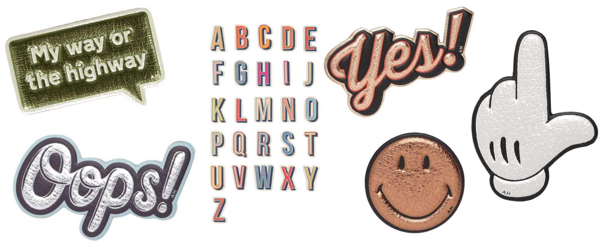 Stickers by Anya Hindmarch