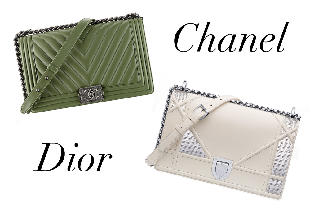 1b1adbc0486f Bag Battles  Chanel Boy Bag vs. Christian Dior Diorama Bag - PurseBlog