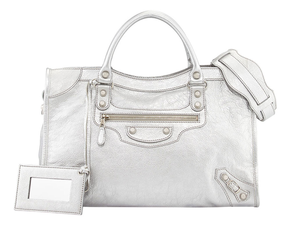 Balenciaga-Metallic-City-Bag