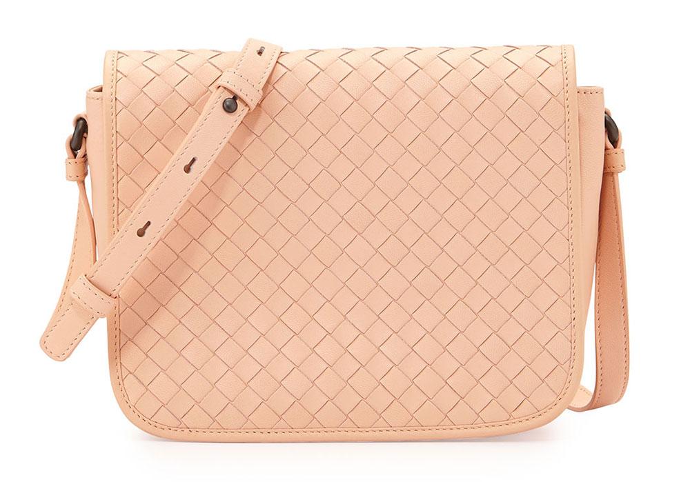 Bottega-Veneta-Intrecciato-Flap-Bag
