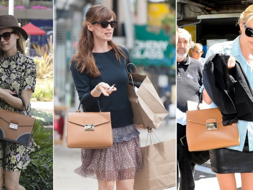 Celebrities with Prada SS 2015 Bags