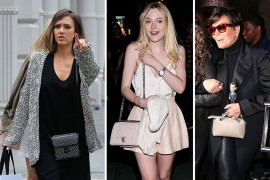 All the Best Celebrity Handbags of the Week, From A-F