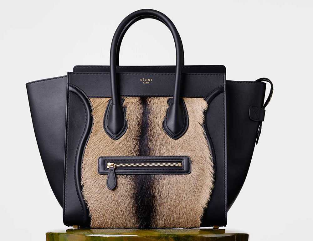 celine luggage mini black leather tote bag - Celine's Winter 2015 Handbag Lookbook is Here, Complete with ...