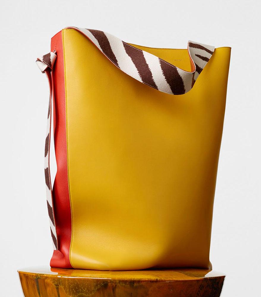 Celine-Oversized-Twisted-Cabas-Yellow-2350
