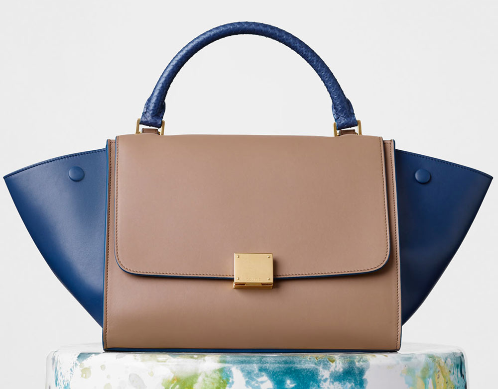 Celine-Small-Bicolor-Trapeze-Bag-3100