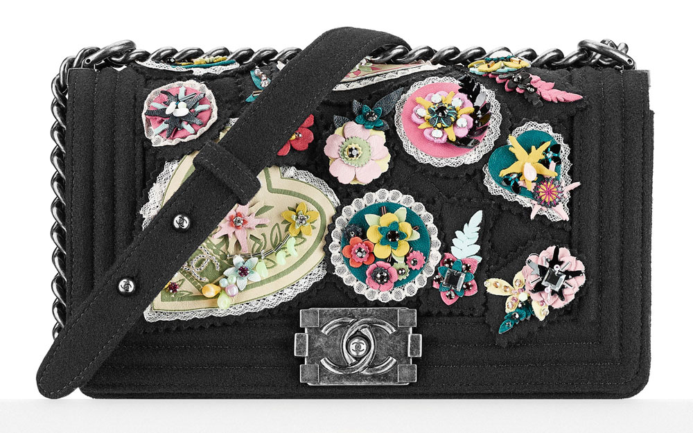 Chanel-Embroidered-Felt-Boy-Bag