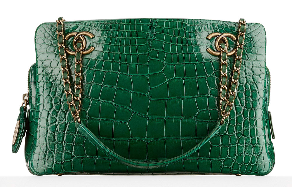 Chanel-Small-Alligator-Shopping-Bag