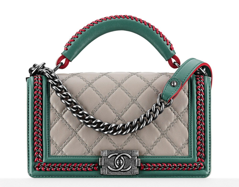 Check out the Chanel Metiers d'Art 2015 Handbag Lookbook