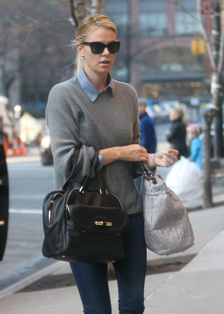 Charlize Theron Street Style 2015
