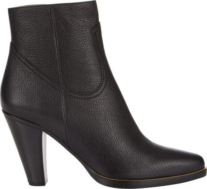 Chloé Stacked heel ankle boots