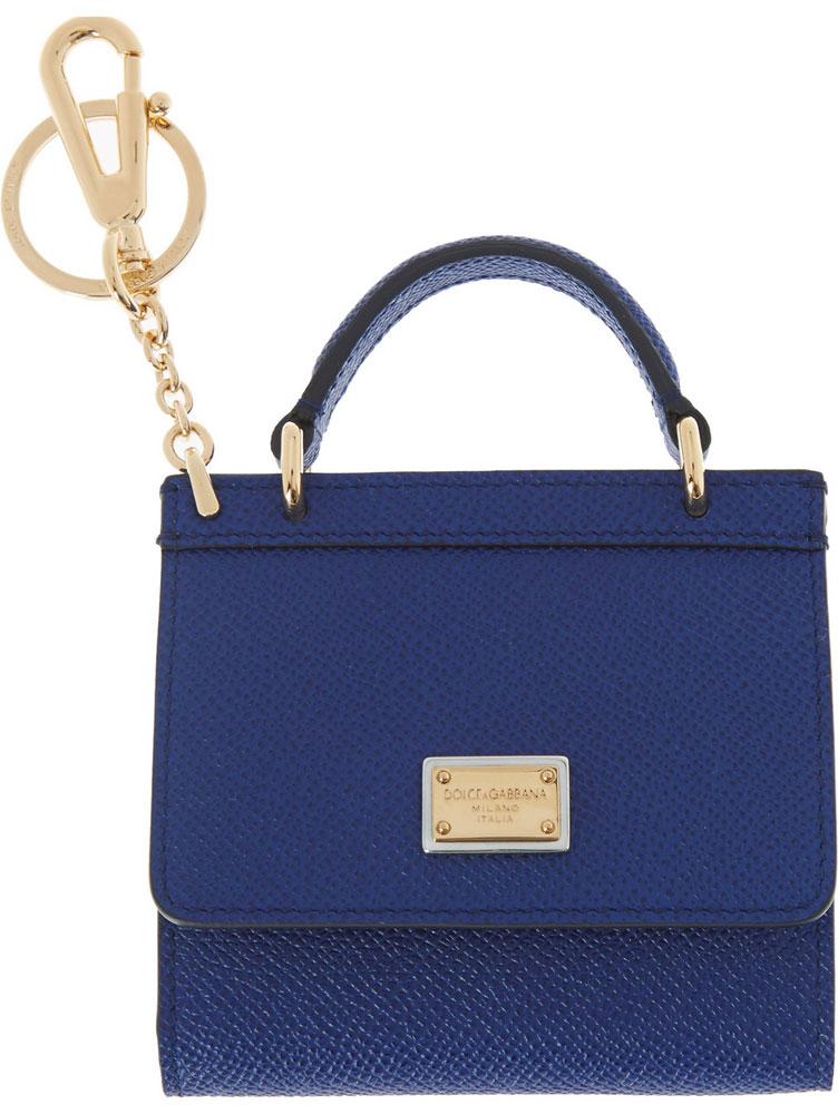 Dolce-and-Gabbana-Handbag-Keychain-Blue