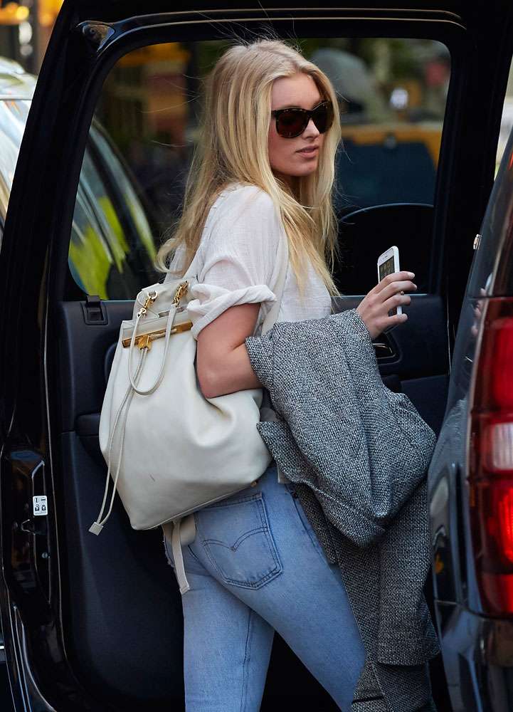 Elsa-Hosk-The-Row-Backpack
