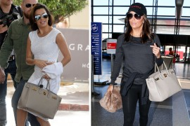 Just Can't Get Enough: Eva Longoria and Her Hermès Birkin