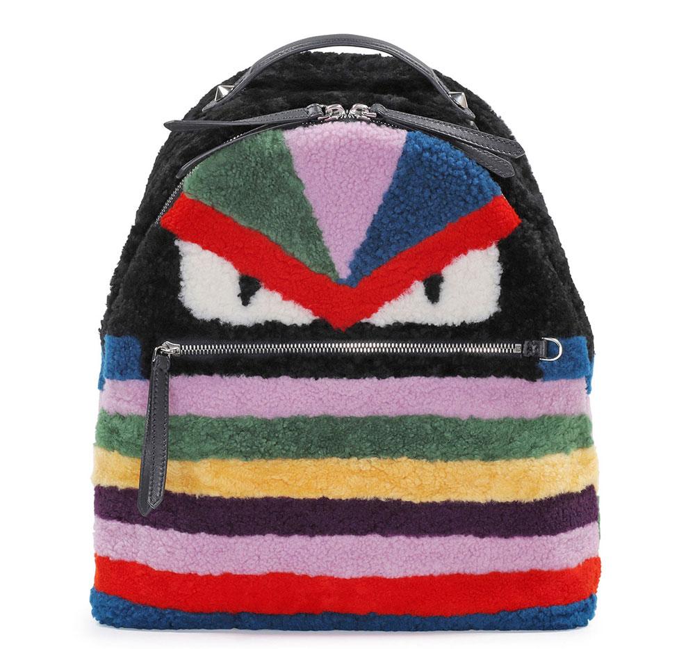 Fendi-Shearling-Monster-Backpack